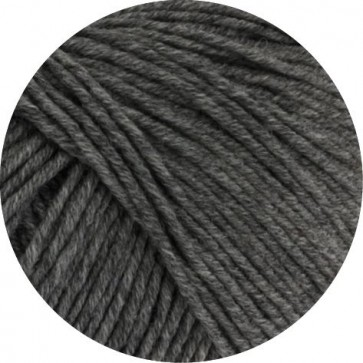 COOL WOOL BIG - dunkelgrau meliert