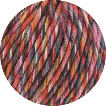 BINGO FUNKY PRINT - Dunkelrot/Pink/Grau bunt - 401