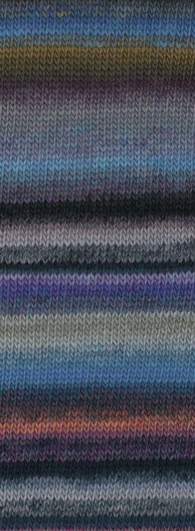 COLORISSIMO - Umbra/Pflaume/Türkisblau/Violett/Lachs/Grau/Beere - 6