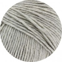 COOL WOOL BIG - Hellgrau meliert - 616