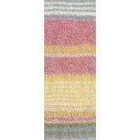 ARUBA - Grau/Pink/Gelb/Ecru - 1