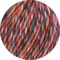 BINGO FUNKY PRINT - Dunkelrot/Pink/Grau bunt