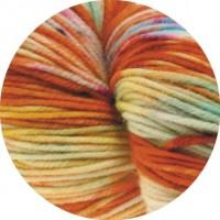 COOL WOOL HAND-DYED - Malabar - Orange/Rohweiß/Gelb - 101