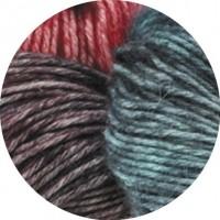 ECOPUNO HAND-DYED - Namaste - Anthrazit/Violett/Terracotta/Petrol - 501