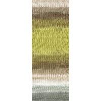 GOMITOLO DOPPIO - Weiß/Beige/Sand/Senfgelb/Khaki/Hellgrau/Graubraun - 204