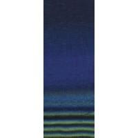 GOMITOLO FINITO - Royal/Dunkelblau/Hellgrün/Anthrazit/Marine