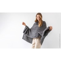 LOOKBOOK NR. 9 - Modell 10 Poncho