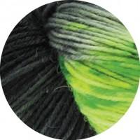 MEILENWEIT 100 MERINO HAND-DYED - Goa - Grau/Türkis/Rosa/Limette - 305