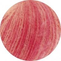 SILKHAIR PRINT - orange/rot/pink/lachs