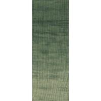 SLOW WOOL LINO DÉGRADÉ - Pastell-/Grau-/Patinagrün