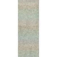 SOLO LINO PRINT - Graubeige/Pastellgrün/Pastellblau/Hellgrau - 155